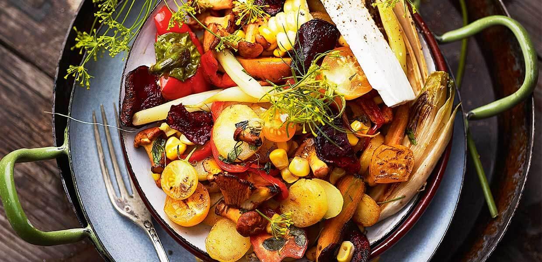 Herbstliches Gemüsepfandl