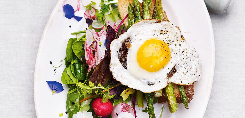 Radieschen-Spinat-Salat