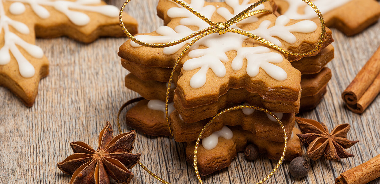 Lebkuchen mit Ingwer und Zuckerrübensirup