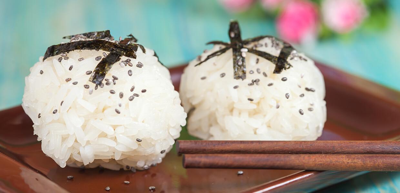 Reisbällchen aus der Tortilla-Tüte