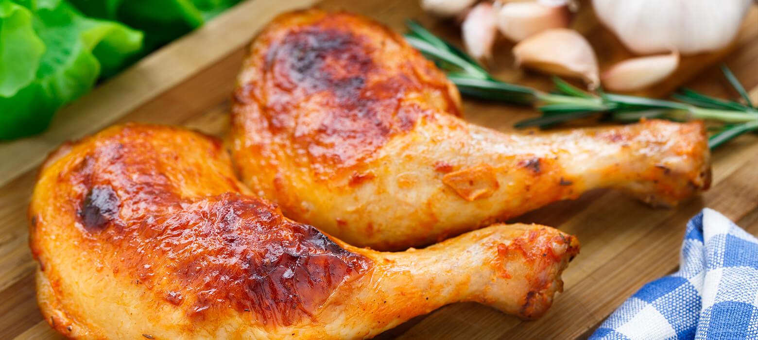 Hühnerkeulen mit Fenchelsamen, Rosmarin und Honig