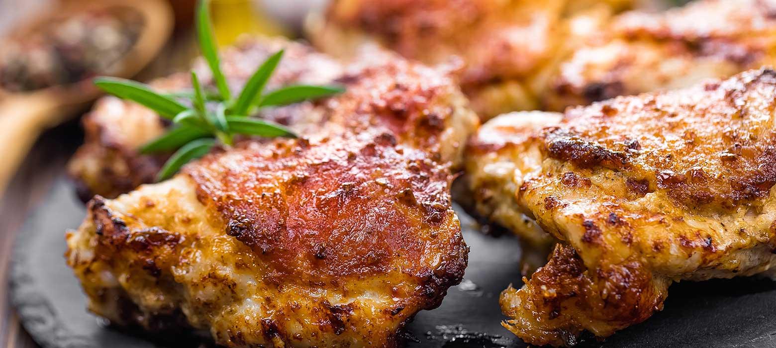 Gegrillter Hühnermix