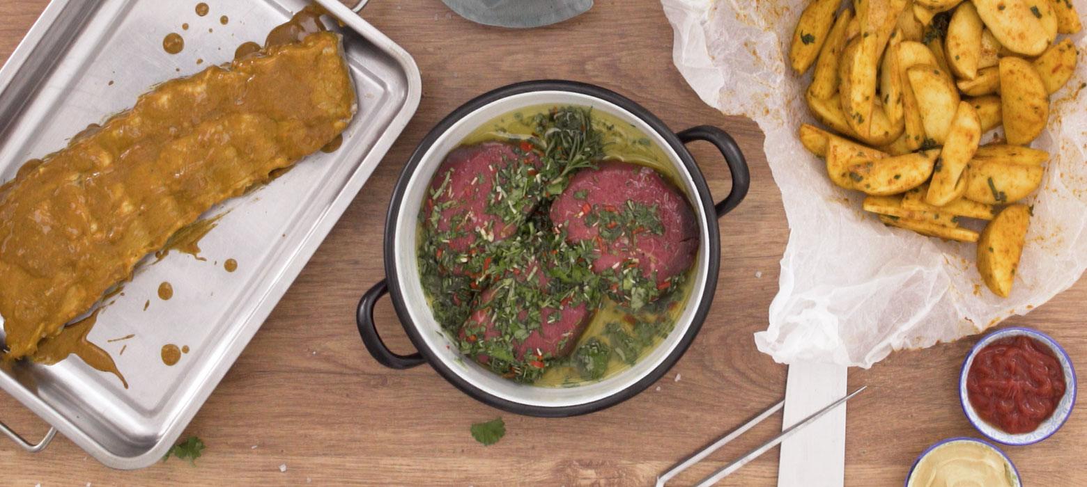 Kräuter-Steak-Marinade