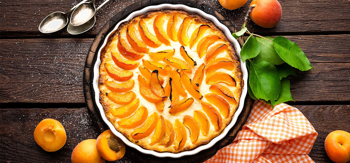 Marillen-Sauerrahm-Kuchen