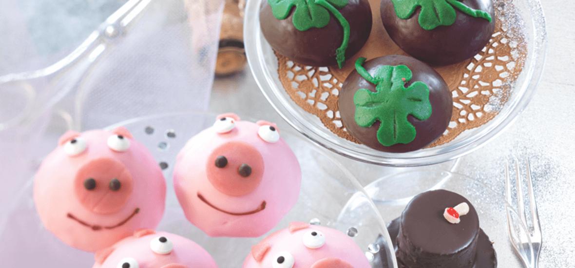 Glücksbringer-Rezept Schweinchen