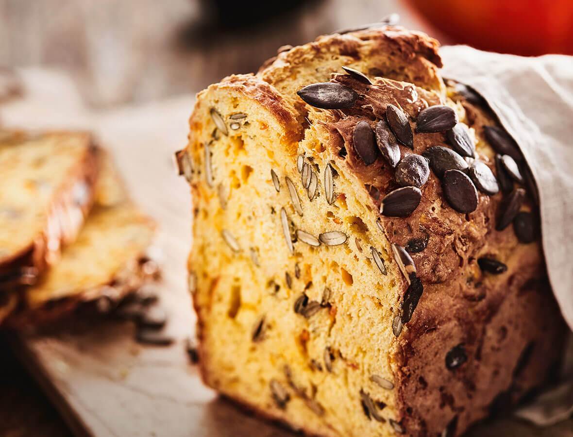 Kürbis-Joghurt-Brot