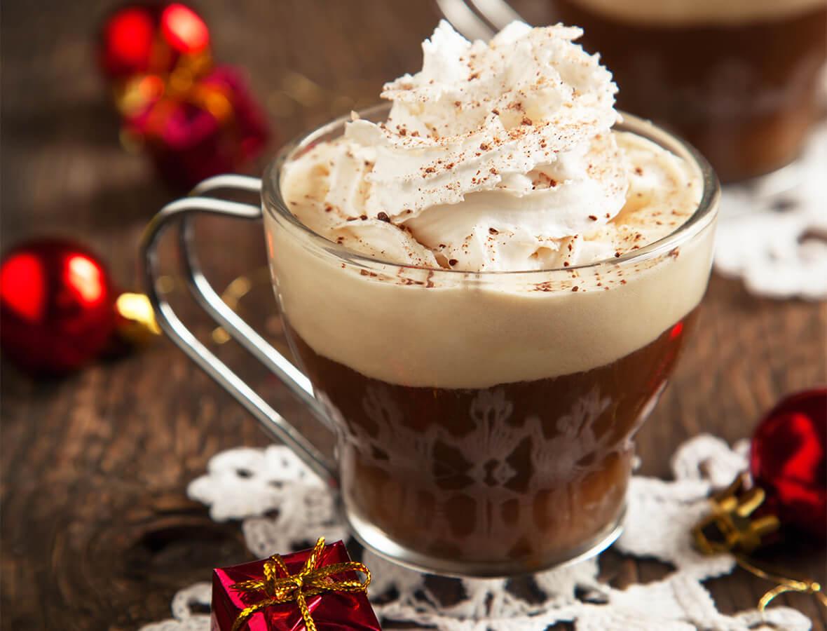 Kaffee Butter Muskat Punsch